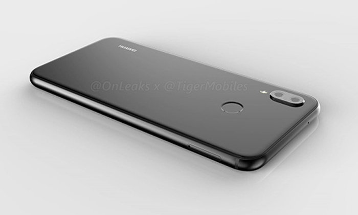เผยภาพเรนเดอร์ Huawei P20 Lite มาพร้อมดีไซน์รอยบากที่ด้านบน และกล้องคู่แนวตั้งคล้าย iPhone X