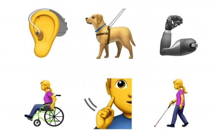Apple เผยอีโมจิ 13 รูปแบบใหม่ จุดประสงค์เพื่อเป็นตัวแทนกลุ่มผู้พิการ!