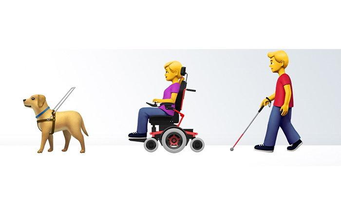 Apple ผุด Emoji รูปคนและสัตว์พิการ ทางเลือกใหม่ให้คนเลือกใช้