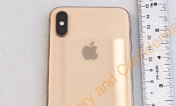 หลุดจาก FCC: ภาพ iPhone X สีทอง ที่ยังไม่ได้เปิดตัว