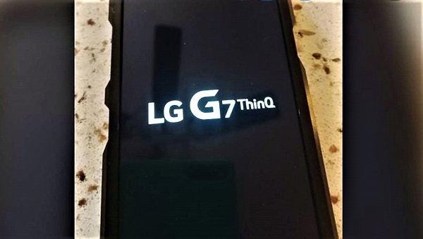 ภาพหลุดเรือธง LG G7 ThinQ เผยหน้าจอมี ติ่ง