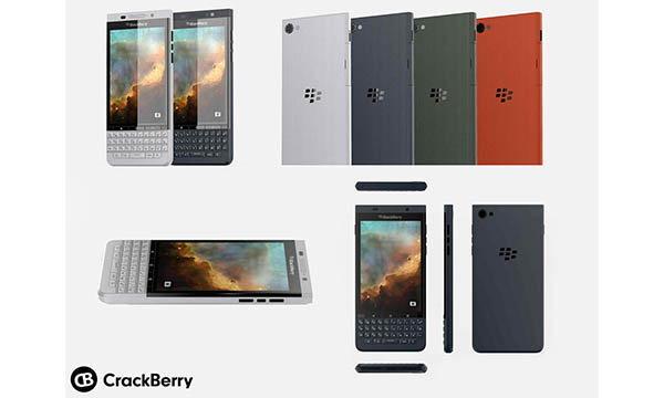 เผยภาพเรนเดอร์ของ Blackberry Vienna มือถือ Android รุ่นที่ 2 ของ Blackberry