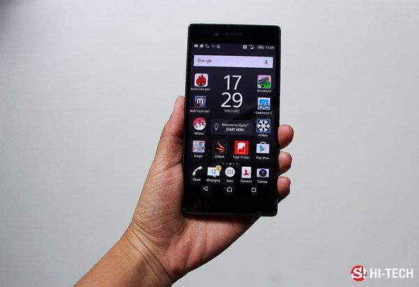 [รีวิว] Sony Xperia Z5 อัพเกรดขนาดสู่ความลงตัว