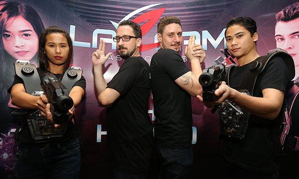 LaZgam เกมส์เลเซอร์แนวแอ็คชั่นไซไฟมอบการผจญภัยรูปแบบใหม่ในประเทศไทย