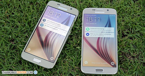 เปรียบเทียบ Galaxy S6(copy) vs Galaxy S6 เครื่องไหนจริงเครื่องไหนปลอม มาทายกันดูครับ