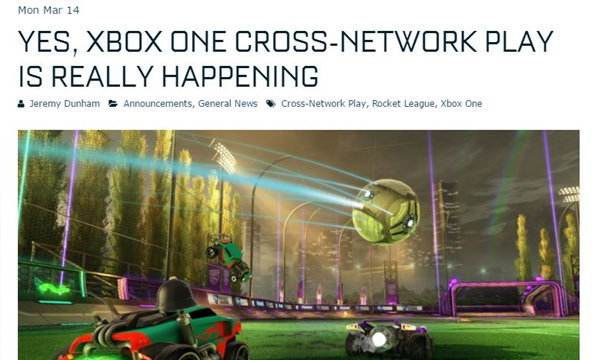 ช็อควงการ ไมโครซอฟท์เปิดให้เล่นเกมบน Xbox One แข่งกับคอนโซลอื่นได้