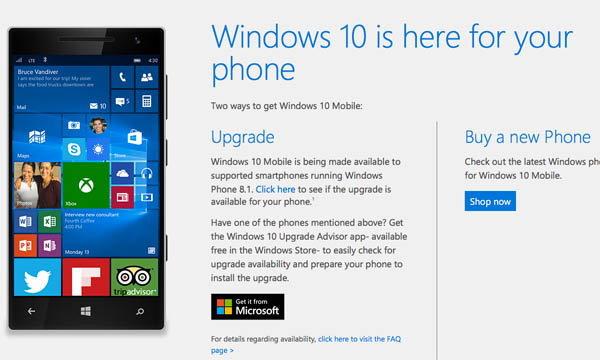 สิ้นสุดการรอคอย Microsoft ปล่อย Windows 10 Mobile ให้กับอุปกรณ์รุ่นเก่า