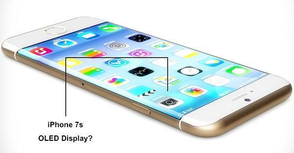 iPhone 7s อาจเป็นไอโฟนรุ่นแรกที่มาพร้อมกับหน้าจอแบบ OLED!