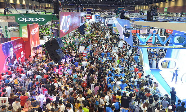 สรุปยอดขายมือถือในงาน Thailand Mobile Expo Hi-End 2016 ภาพรวมน่าพอใจ ย้ำตลาดมือถือยังโต