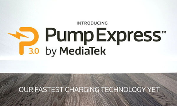 MediaTEK พัฒนาระบบชาร์จไฟเร็ว Pump Express 3.0 แค่ชาร์จ 20 นาทีได้ไฟใช้งาน 70%