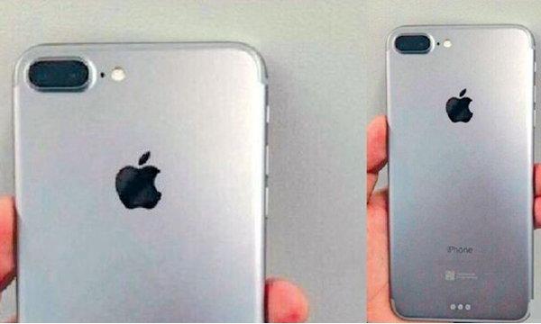 iPhone 7 ภาพล่าสุด กล้องหลังคู่