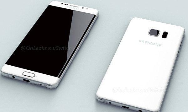 ด่วนภาพ Render Galaxy Note 6 edge อาจจะเป็นแบบนี้