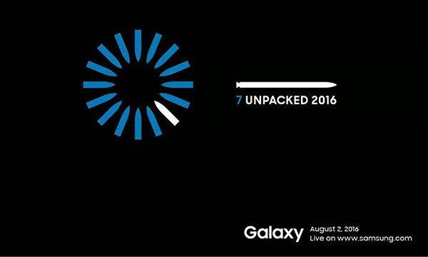 เผยบัตรเชิญงานเปิดตัว Samsung Galaxy Note 7 แล้วเจอกัน 2 สิงหาคมนี้