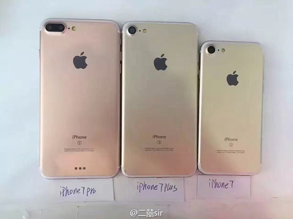 iPhone 7 หลุดภาพชัดๆ ครบ 3 รุ่น iPhone 7, 7 Plus และ 7 Pro พร้อมข้อมูลราคารุ่น Pro