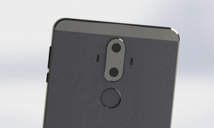 หลุดภาพรูปร่างของ Huawei Mate 9 ใหญ่อลังการงานสร้างพร้อมกล้องหลังคู่