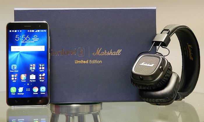 รีวิว ASUS Zenfone 3 Marshall Limited Edition คู่หูที่ดูดี แต่จำนวนจำกัด