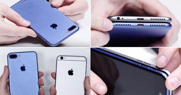เปรียบเทียบชัด ๆ ดีไซน์ iPhone 7 กับ iPhone 6S มีอะไรเปลี่ยนไปบ้าง ?