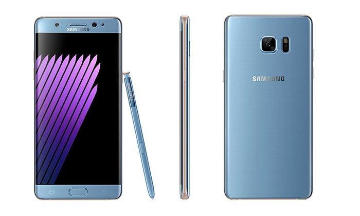 Samsung Galaxy Note 7 รุ่นแก้ไขแบตเตอรี่ จะมาถึงประเทศอังกฤษ ในวันที่ 19 กันยายน