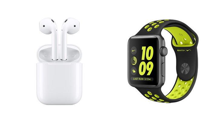 Apple เปิดราคาหูฟัง AirPods และ Apple Watch Series 2 ในประเทศไทยแล้ว
