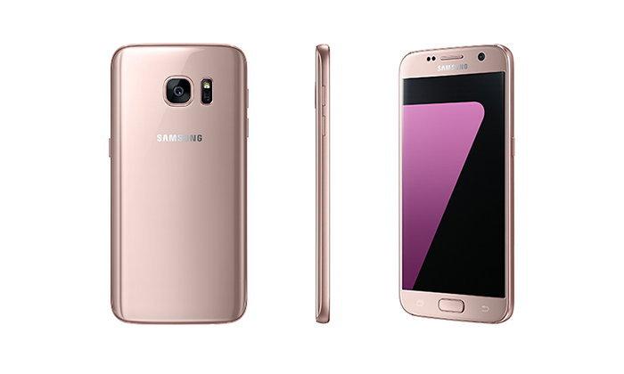 Samsung เพิ่มสีชมพูหวาน ๆ ให้กับ Galaxy S7 ในเกาหลี