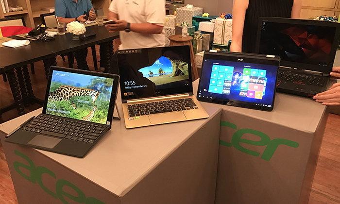 สัมผัสแรก 5 คอมพิวเตอร์ 4 รูปแบบใหม่ล่าสุดจาก Acer ที่น่าสนใจและรอคุณเป็นเจ้าของ