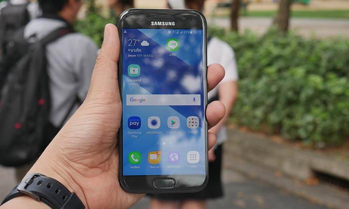 พาสัมผัส Samsung Galaxy A 2017 การเปลี่ยนแปลงที่ดูคุ้มและสวยในมือถือระดับหมื่นต้น