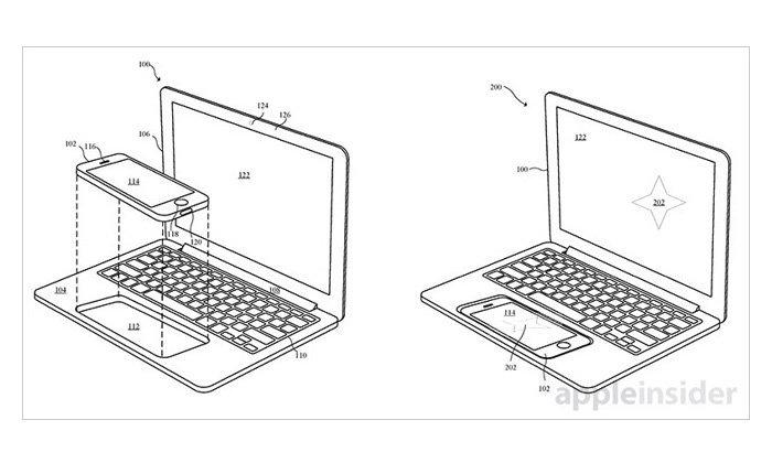 เผยสิทธิบัตรของ Apple Docking แปลงร่าง iPhone iPad เป็น Notebook