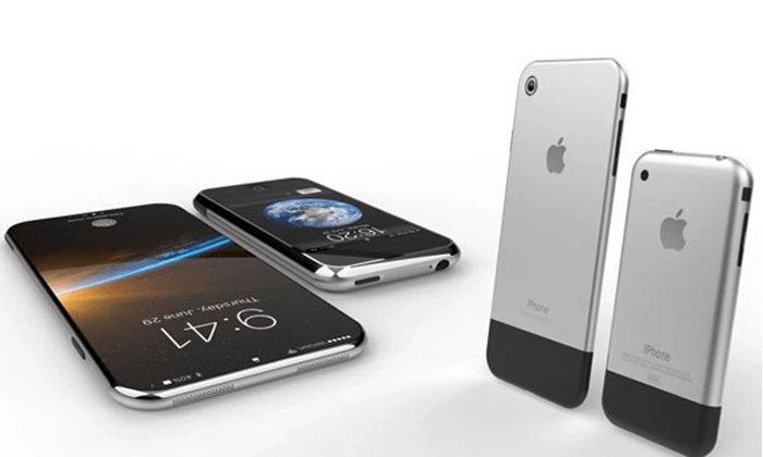 คลิปคอนเซปท์ iPhone 8 รุ่นครบรอบ 10 ปี ด้วยแรงบันดาลใจด้านดีไซน์จาก iPhone รุ่นแรก