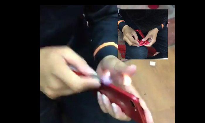 อย่างแจ่มงานเนียนมาก จะไปซื้อ iPhone สีแดงให้เสียเงินทำไม?