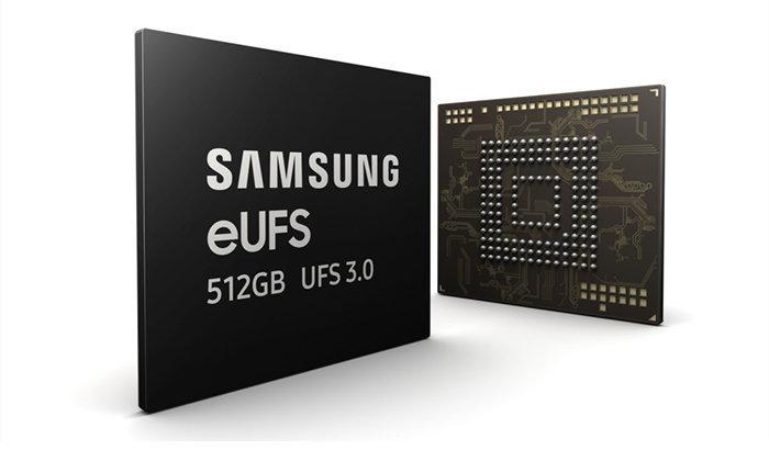 """Samsung"" เริ่มผลิตความจำรูปแบบ eUFS 3.0 ที่สามารถอ่านเร็วระดับ 2,100Mb/s"