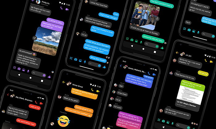 """Facebook Messenger"" เปิดตัวฟีเจอร์ Dark Mode อย่างเป็นทางการ"
