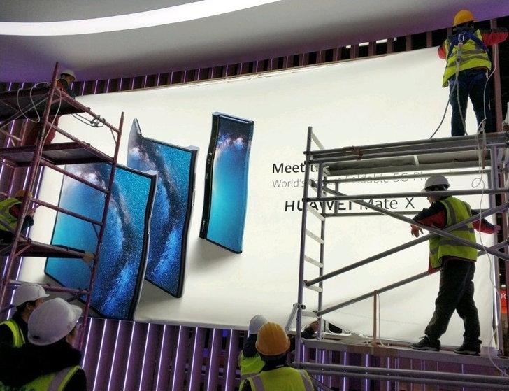 """เผยภาพโปสเตอร์ """"Mate X"""" สมาร์ทโฟนพับหน้าจอได้ของ Huawei!"""