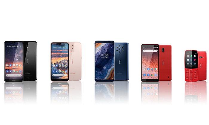 Nokia เปิดตัวมือถือ 5 รุ่นใหม่ในงาน MWC 2019 หนึ่งในนั้นคือ มือถือ กล้อง 5 ตัว