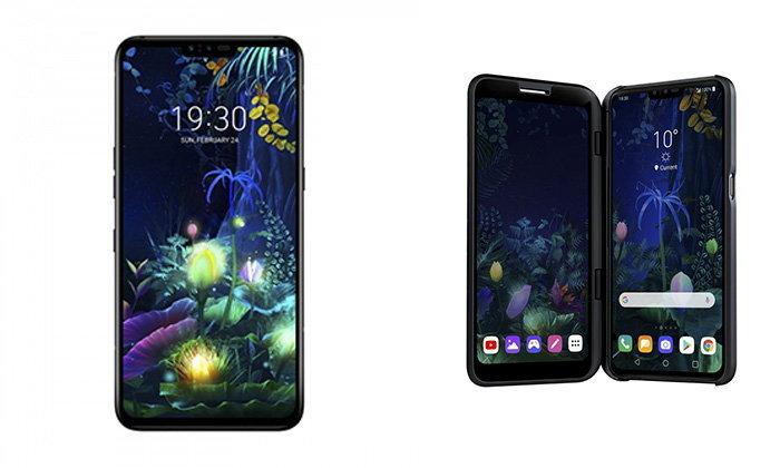LG เปิดตัว V50 5G พร้อมกับอุปกรณ์เสริม จอพับได้และ LG G8 / G8s