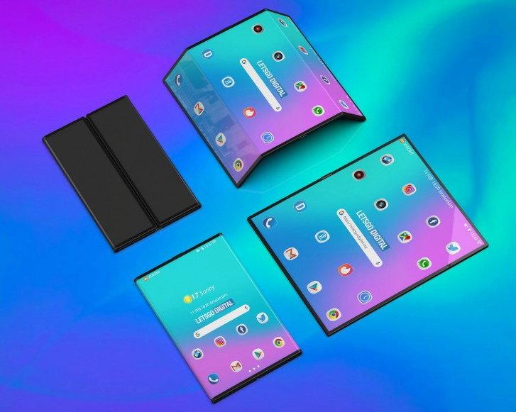 โทรศัพท์มือถือ Galaxy Fold Huawei Mate X Mi Fold Mi Flex