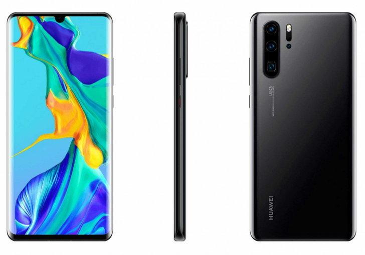 เผยภาพ Huawei P30 และ Huawei P30 Pro ชุดใหม่ สีดำสุดเข้ม!