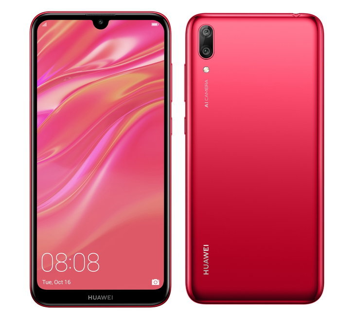 huaweiy7pro2019coralred
