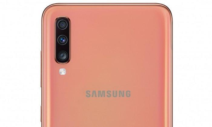 """หลุดภาพ """"Samsung Galaxy A70"""" ของจริง จอใหญ่กล้องละเอียดถึง 32 ล้าน ก่อนเปิดตัว"""