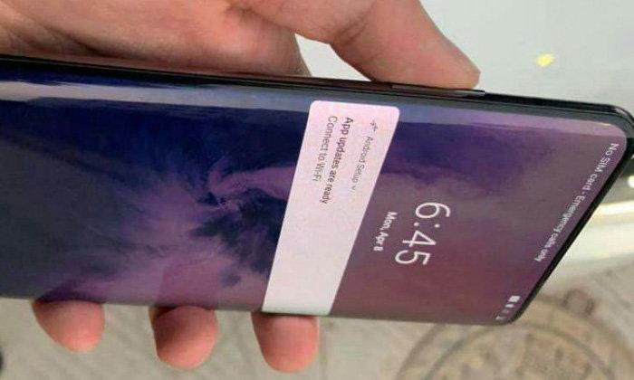 """หลุดภาพจริงของ """"OnePlus 7 Pro"""" นี่แหล่ะมือถือ 5G ของค่ายนี้"""