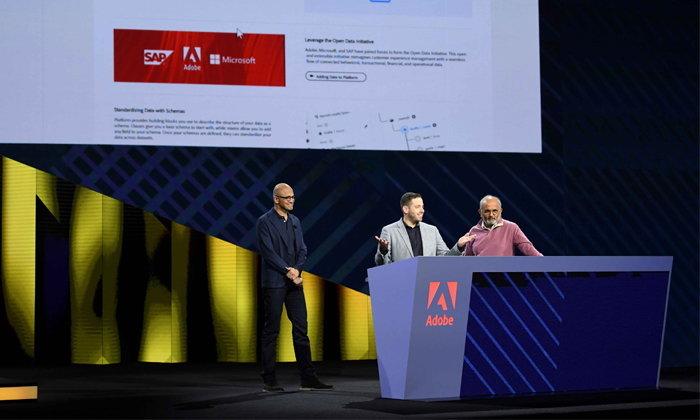 อะโดบี ไมโครซอฟท์ และเอสเอพี ประกาศความร่วมมือโครงการ Open Data Initiative