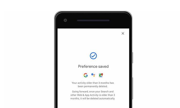 Google เพิ่มฟังก์ชั่นลบประวัติสถานที่และข้อมูลกิจกรรมได้ ภายใน 3 – 18 เดือน