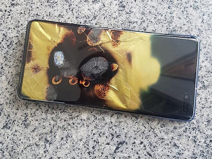 เกิดเหตุ Samsung Galaxy S10 5G ระเบิดในต่างประเทศ ด้านซัมซุงแย้ง ระเบิดเพราะแรงปะทะภายนอก