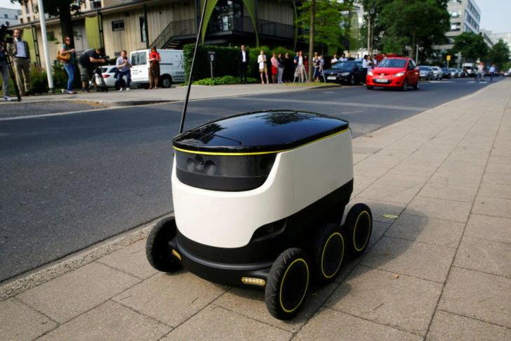 หุ่นยนต์ Delivery ได้รับอนุญาตให้ใช้งานบนทางเท้าภายในรัฐวอชิงตันแล้ว