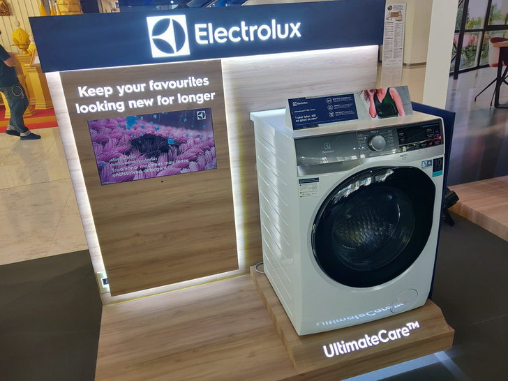 Electrolux เปิดตัวเครื่องซักผ้าฝาหน้า UltimateCare 900 สุดล้ำ ที่ตรวจจับความสกปรกได้!