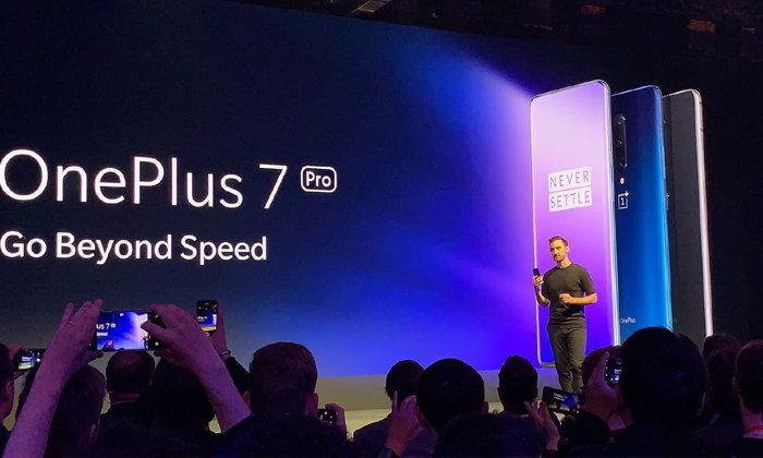เปิดตัว OnePlus 7 และ 7 Pro จอไร้ขอบ กล้องหน้าป็อปอัป กล้องหลังสามตัว และหน้าจอ 90Hz ที่ดีที่สุด