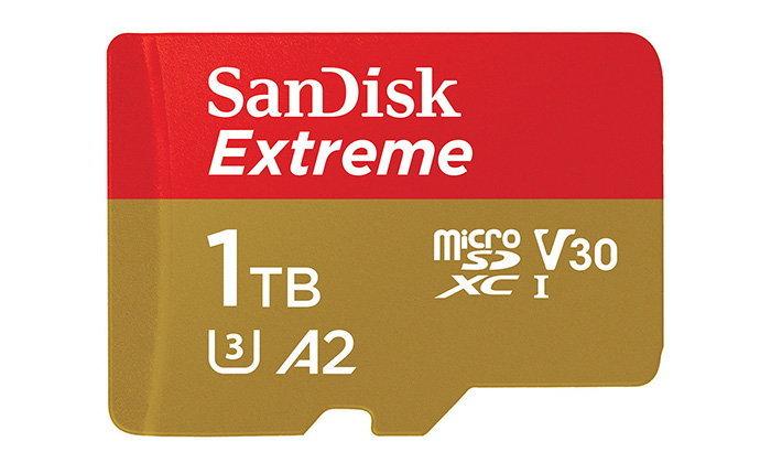 Sandisk เปิดตัว MicroSD ความจุ 1TB ในราคาถูกกว่าเดิม
