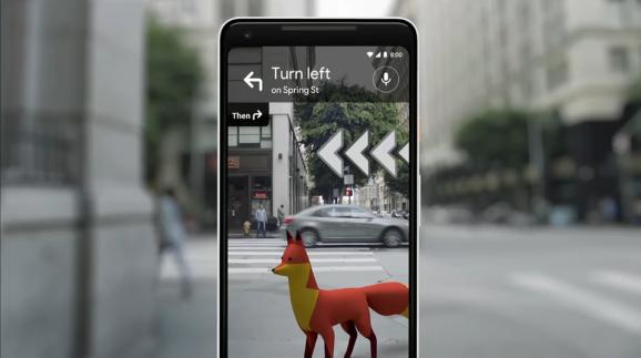Google Maps AR ใช้กล้องนำทาง เปิดให้ใช้งานแล้ว