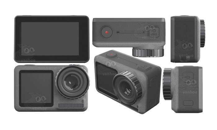 หลุดภาพจริงและสเปกของ DJI OSMO Action กล้อง Action Camera ตัวแรกของ DJI