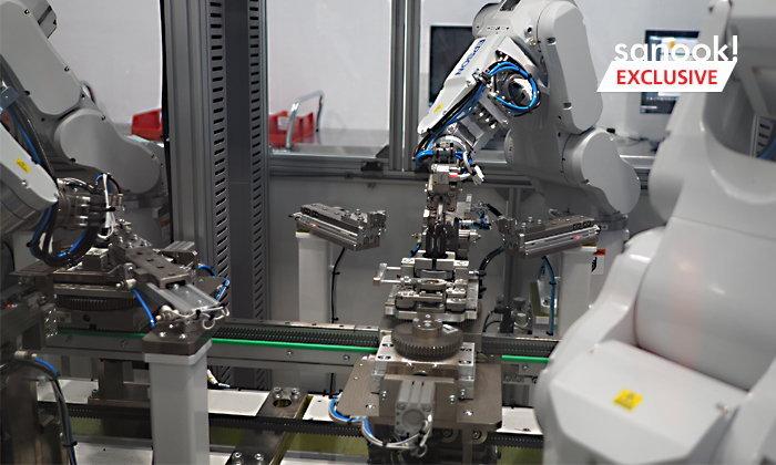 เปิดศูนย์การวิจัยเทคโนโลยีและศูนย์เทคโนโลยีการผลิต ณ Dyson Singapore