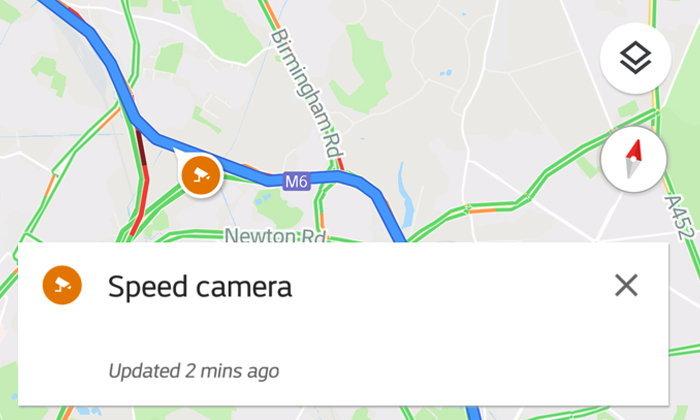 ระวังกล้อง!!! Google Maps ปล่อยฟีเจอร์ใหม่ เตือนกล้องตรวจจับความเร็ว ในกว่า 40 ประเทศ